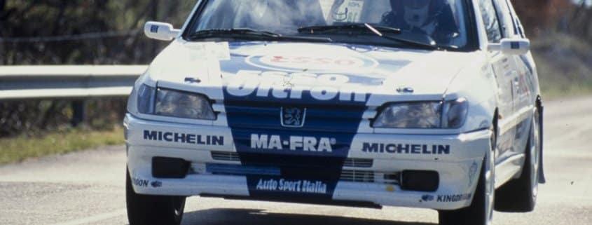 Stagione 1997: 10 rally e 10 successi firmati Travaglia-Deila