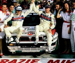 Miki Biasion e il primo titolo con la Lancia Delta HF