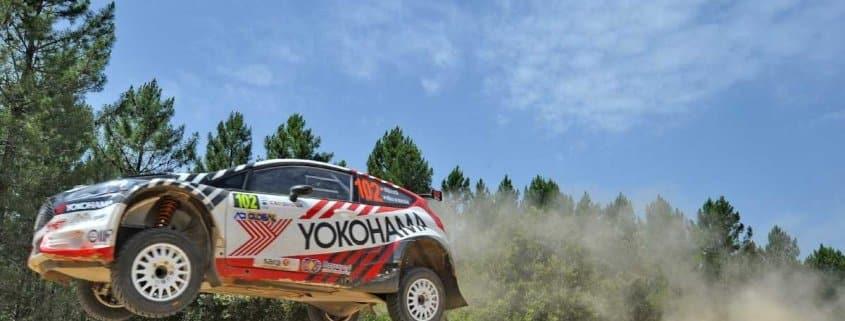 Ricci al Rally Sardegna