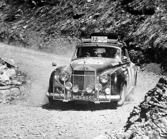 La Roll Royce partecipò con due vetture alla World Cup Rally