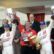 Sebastien Loeb e Daniel Elena al Rally-MonteCarlo 2002