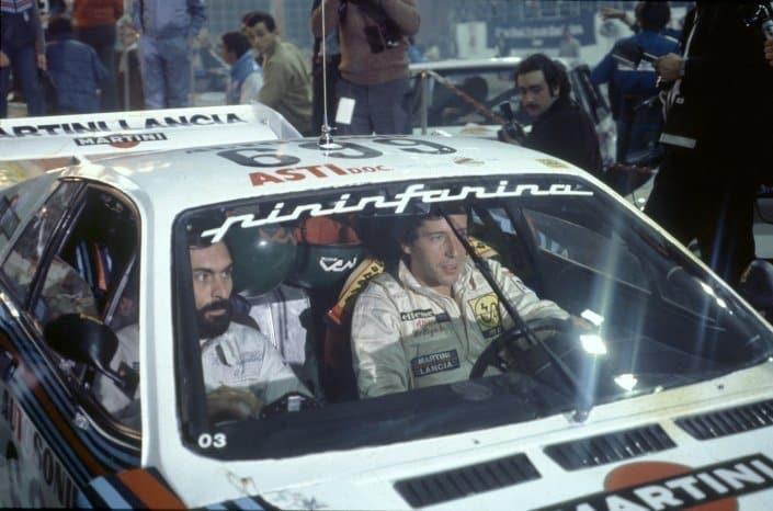 Sempre nei nostri cuori Attilio, qui impegnato con la Lancia Rally 037