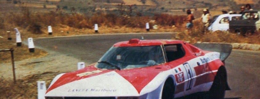 Targa Florio 1974: Ballestrieri-Larrousse sul prototipo Lancia Stratos Marlboro