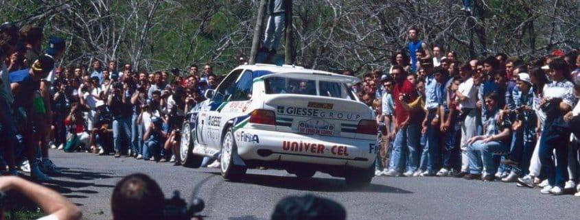 Tour de Corse 1995: la sfortuna beffa di Thiry, Delecour da record