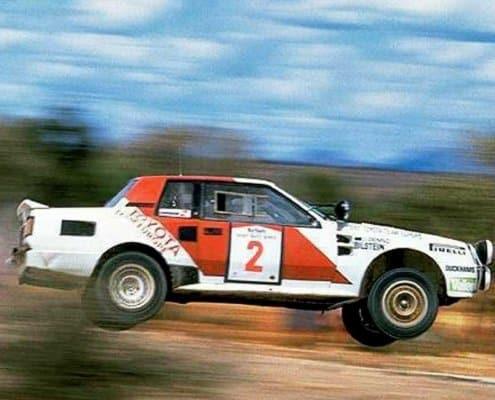 Safari Rally 1986: doppietta Toyota, Alen terzo con la 037