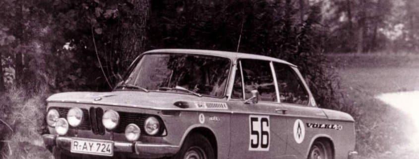 Walter Rohrl e la sua BMW 2002 Ti