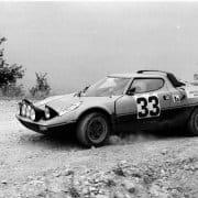 Giovanni Alberti al Rally 4 Regioni 1976