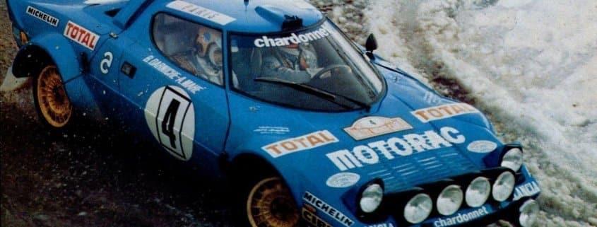 Bernard Darniche con la Lancia Stratos HF