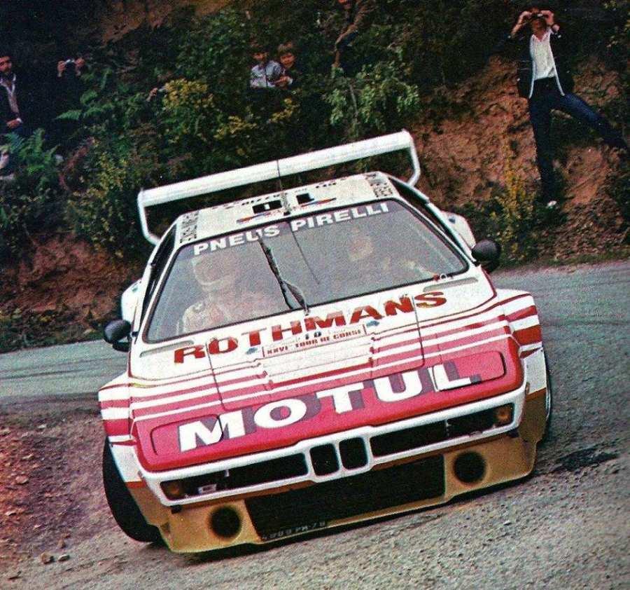 Bernard Darniche al Tour De Corse nella foto Style Racing