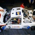 CIR 1986: la Peugeot 205 T16 di Andrea Zanussi