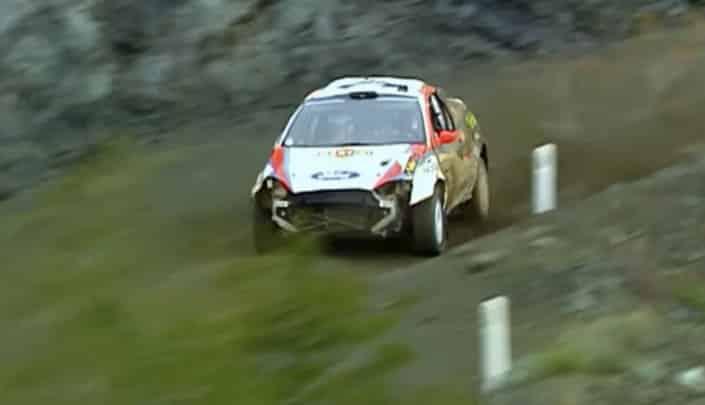Rally di Cipro 2002: Colin McRae batte due colpi