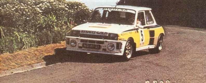 Joaquim Moutinho, unico portoghese a vincere un rally WRC