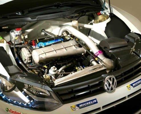 Il turbo della Volkswagen Polo R WRC