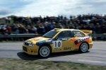 Piero Liatti e Carlo Cassina al Rally di Sanremo 1999